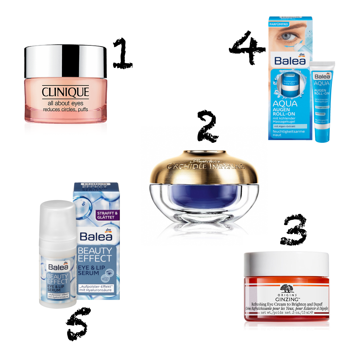 My favorite Eye Creams